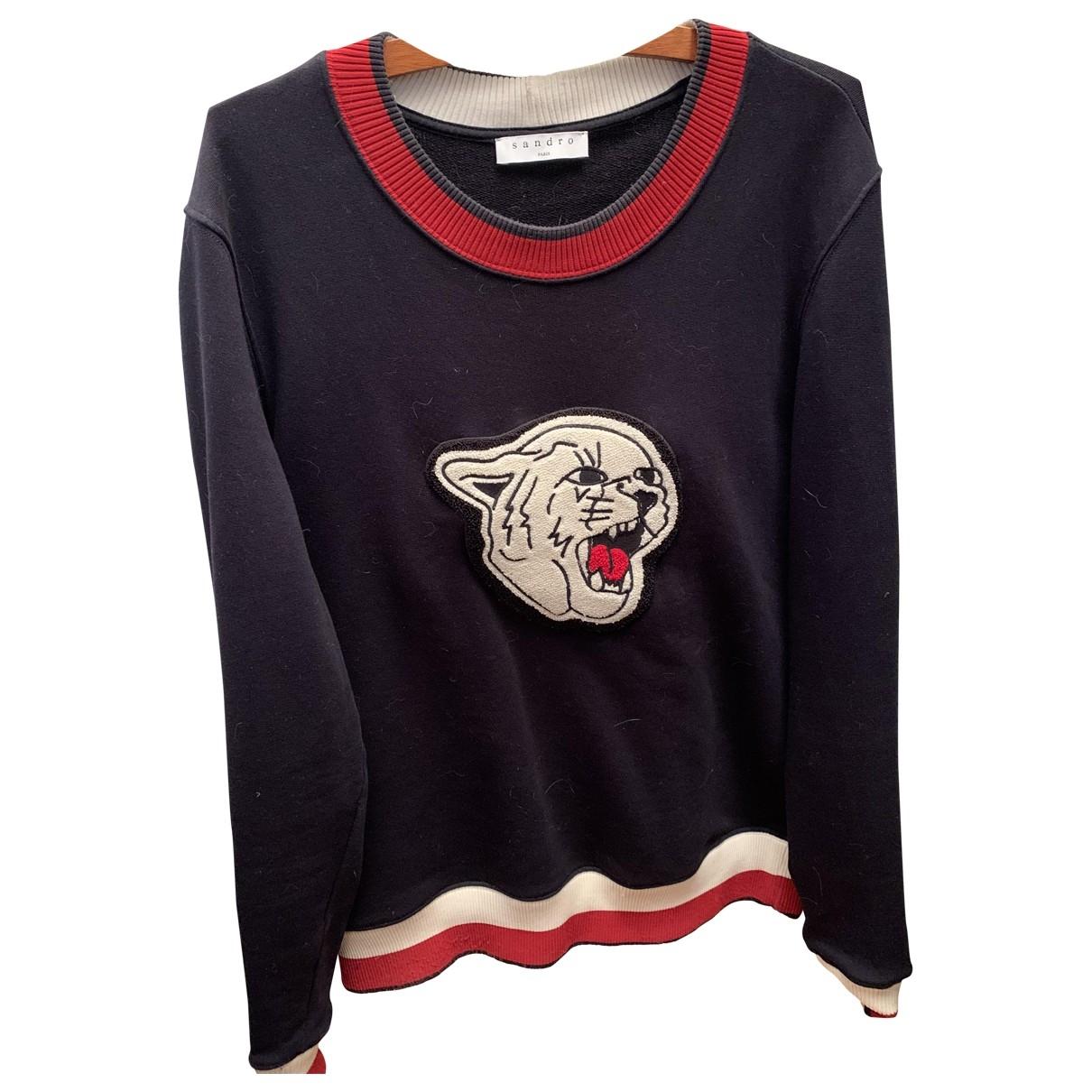 Sandro \N Blue Cotton Knitwear & Sweatshirts for Men M International