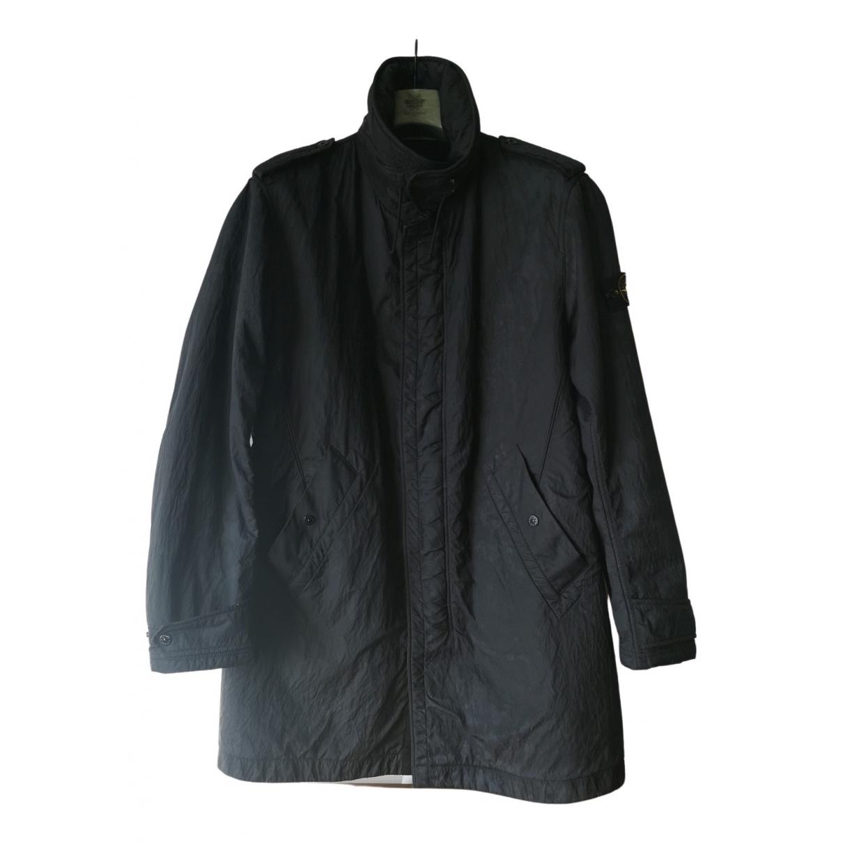 Stone Island - Manteau   pour homme - noir