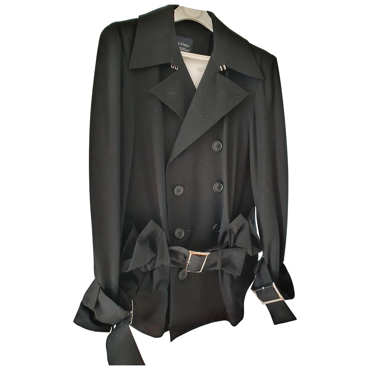 Limi Feu \N Black Wool jacket for Women S International