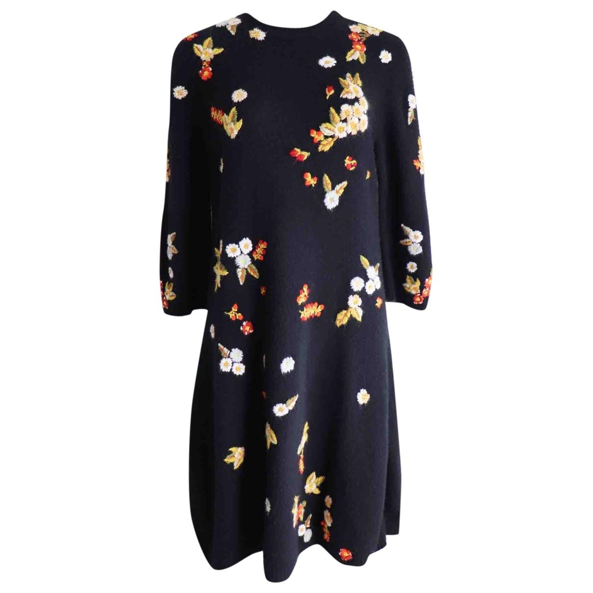 Dior \N Black Wool dress for Women 40 FR
