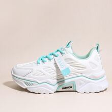 Lace-up Front Wide Fit Chunky Sneakers