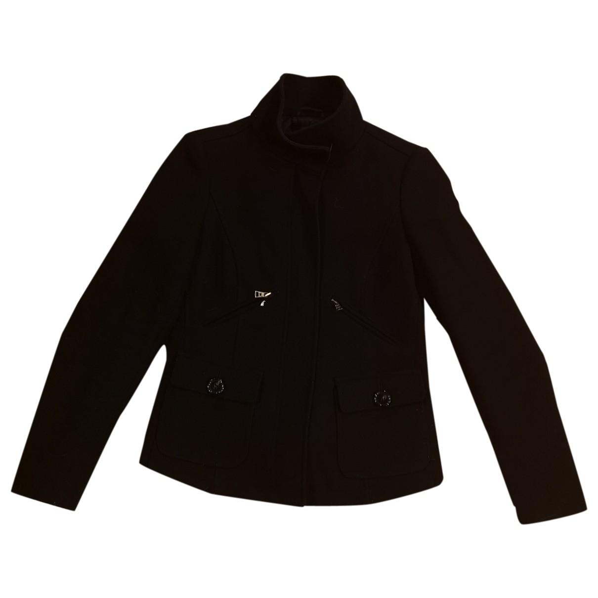 Max Mara Weekend - Veste   pour femme en laine - noir