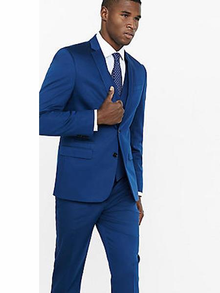 Mens Indigo ~ Cobalt Blue Suit Separates Sale