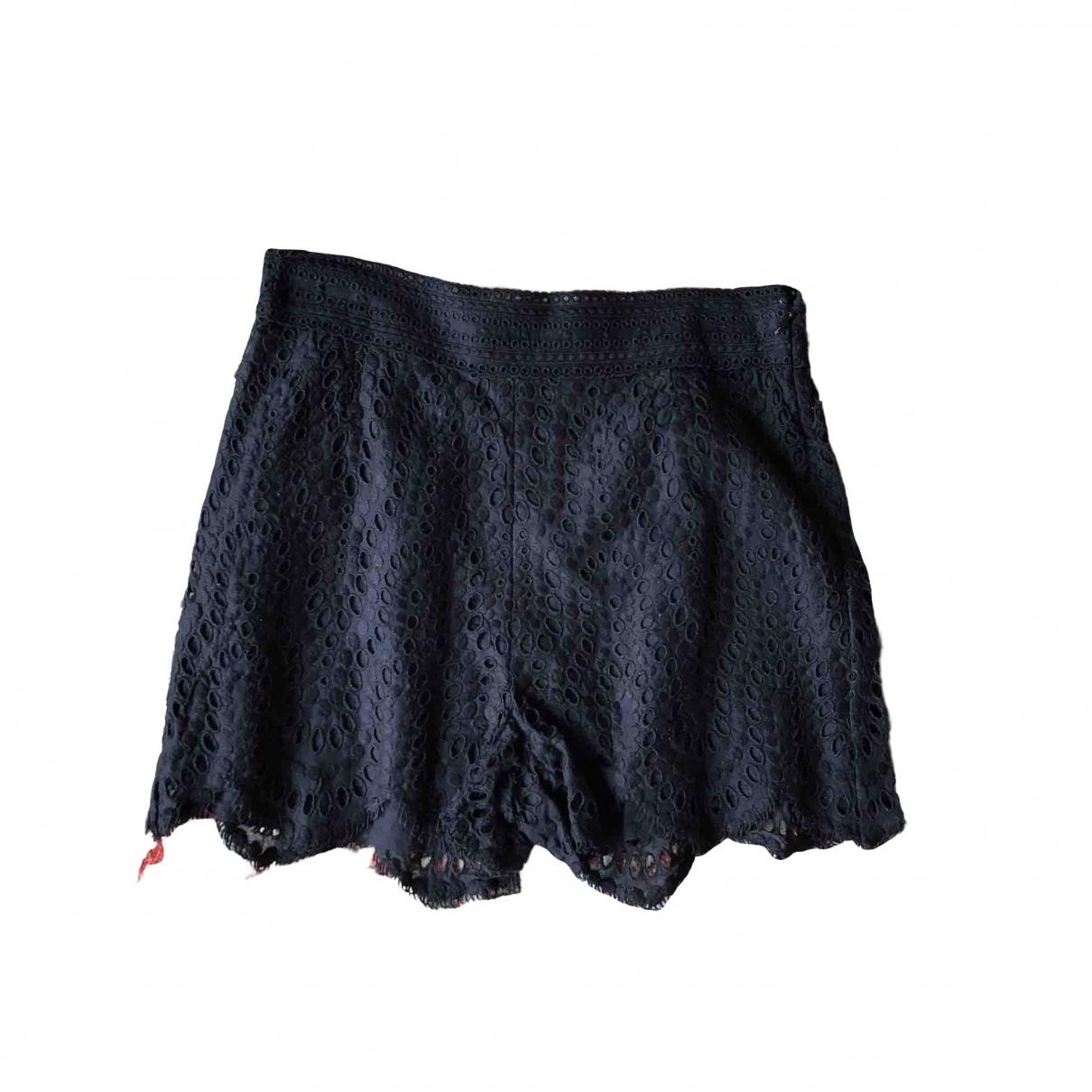 Valentino Garavani \N Shorts in  Schwarz Baumwolle