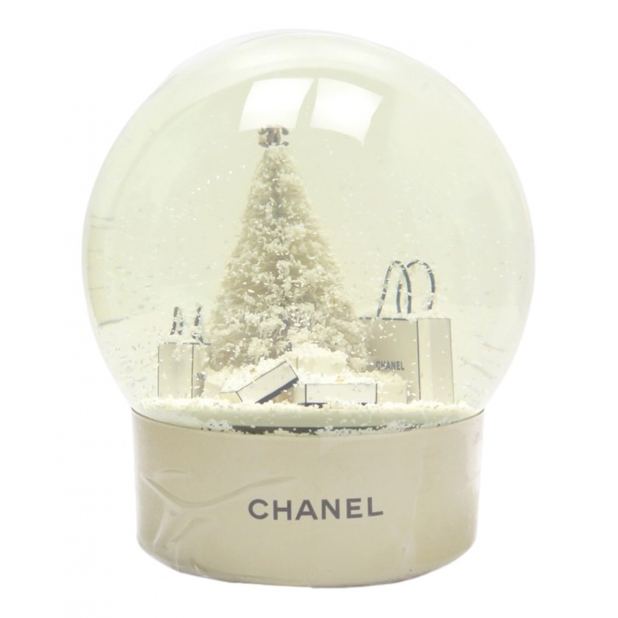 Chanel N Beige Glass Home decor for Life & Living N