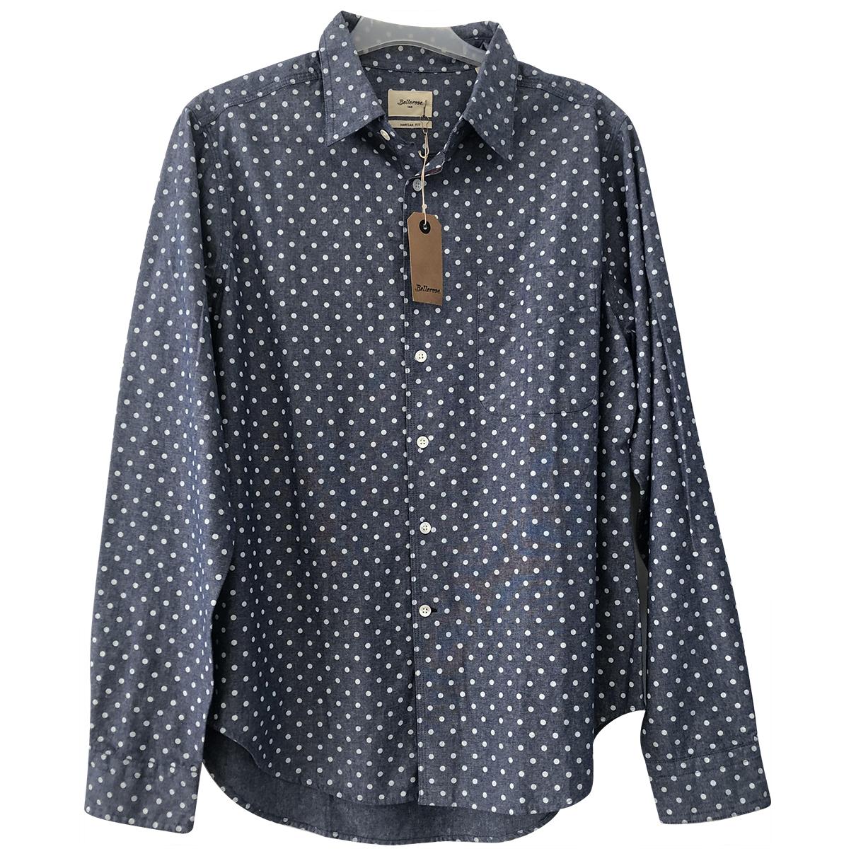 Bellerose \N Blue Cotton Shirts for Men M International
