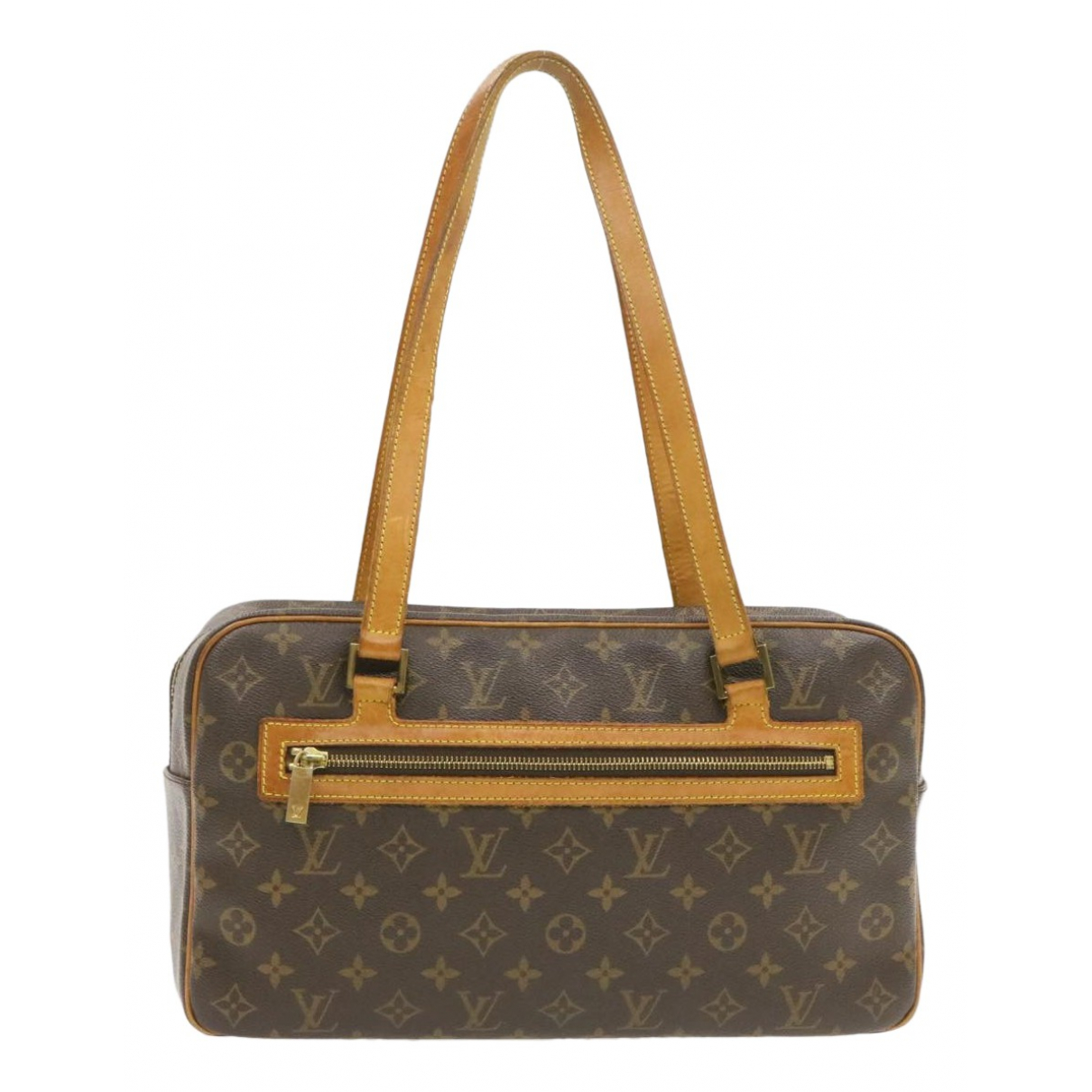 Louis Vuitton Cite  Brown Cloth handbag for Women N