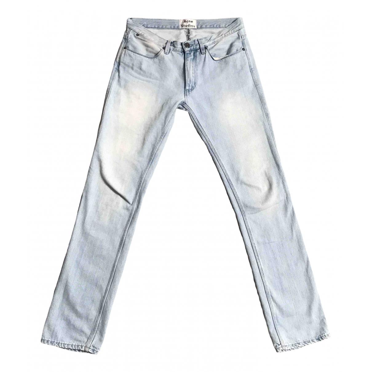 Acne Studios \N Blue Jeans for Men 31 US