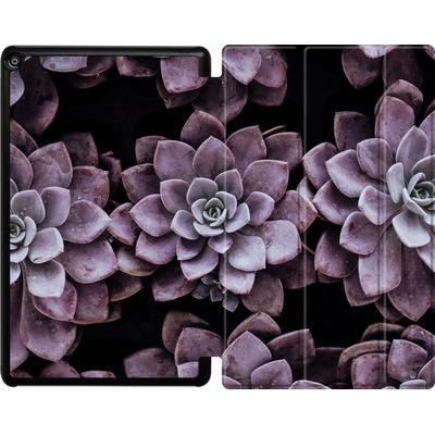 Amazon Fire HD 10 (2017) Tablet Smart Case - Purple Succulents von caseable Designs
