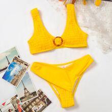 Bikini Badeanzug mit O-Ring Detail