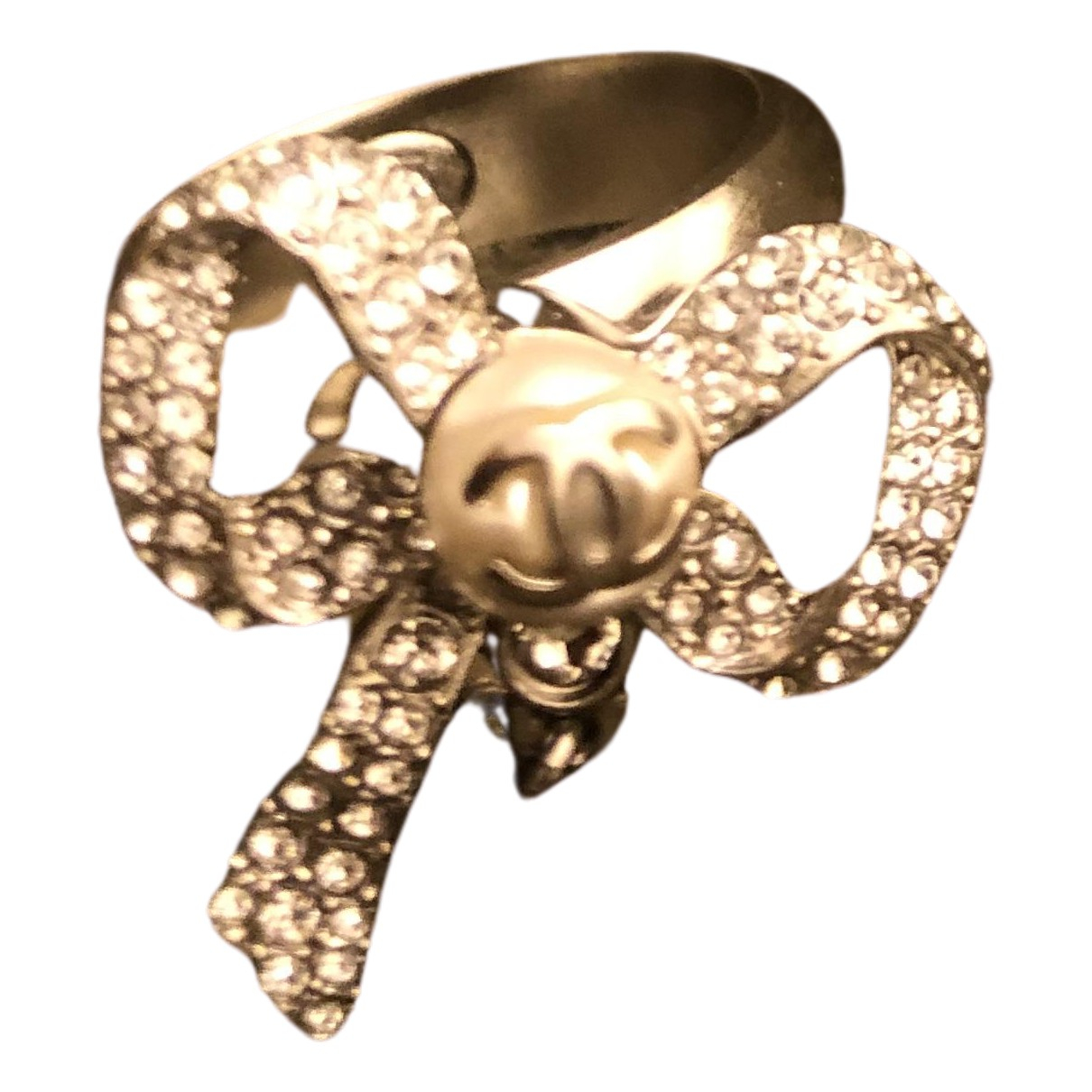 Chanel - Bague   pour femme en cristal - argente