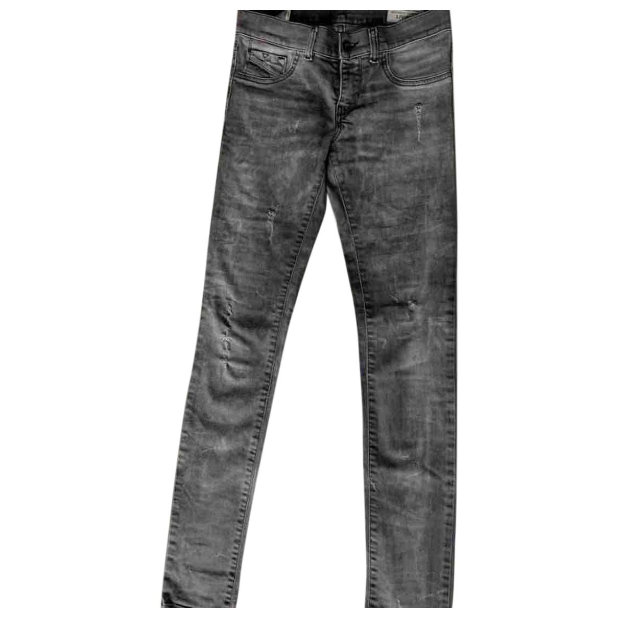 Diesel - Jean   pour femme en denim - gris