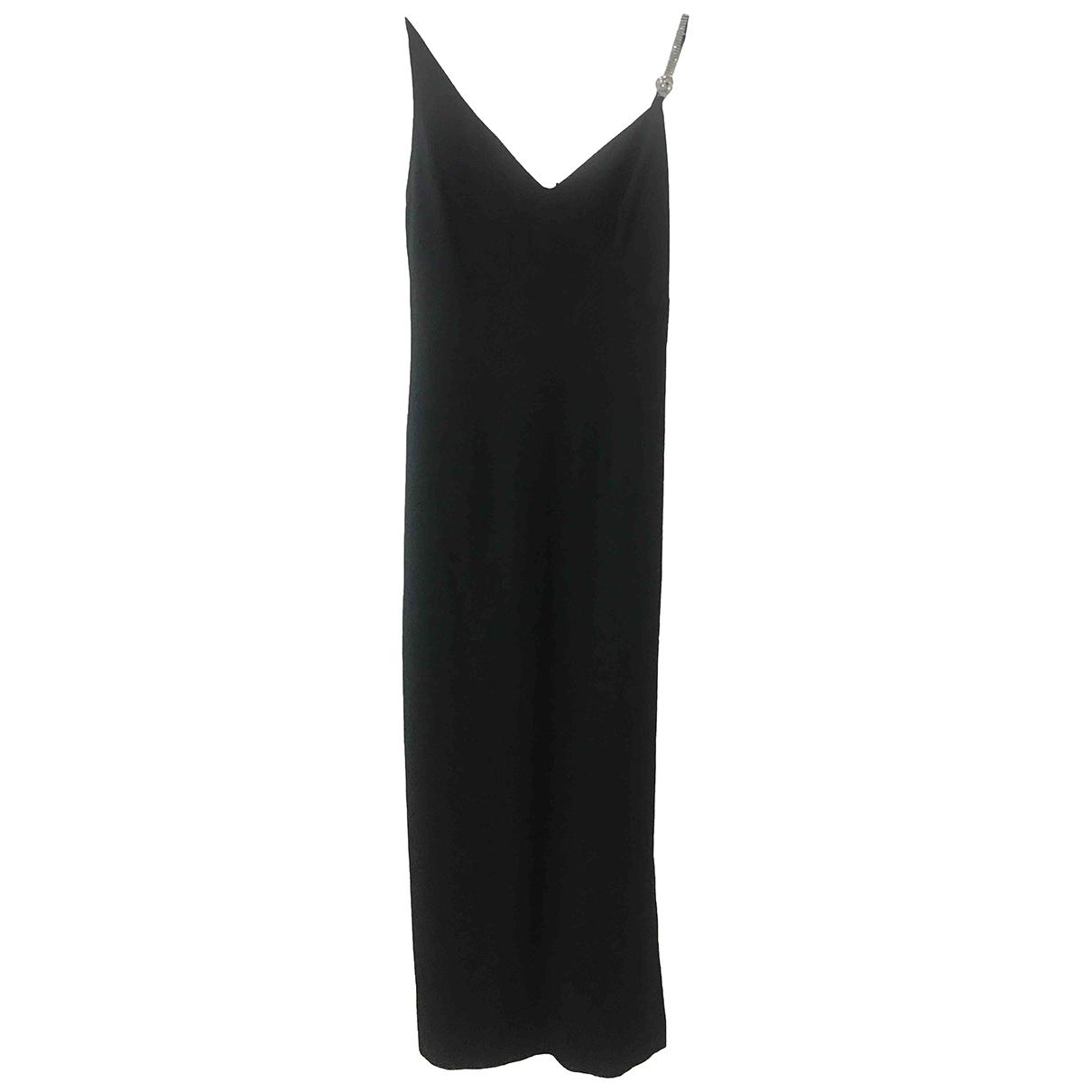 Rebecca \N Kleid in  Schwarz Seide