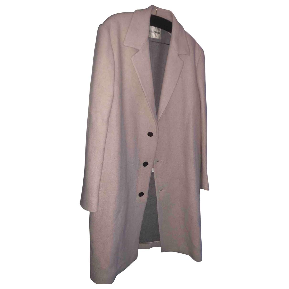 Salle Privee - Manteau   pour homme en laine - beige