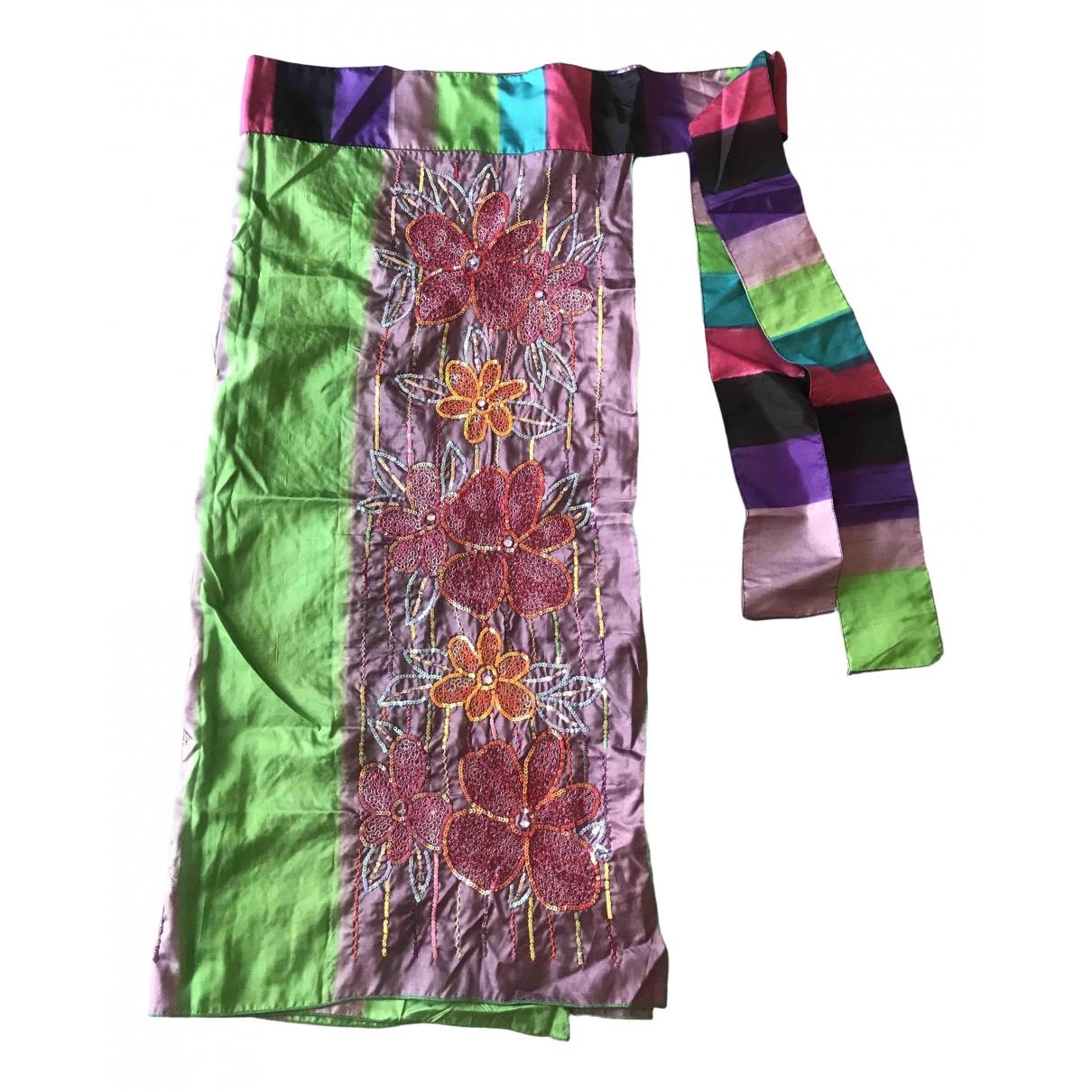 Etro \N Multicolour Silk skirt for Women S International