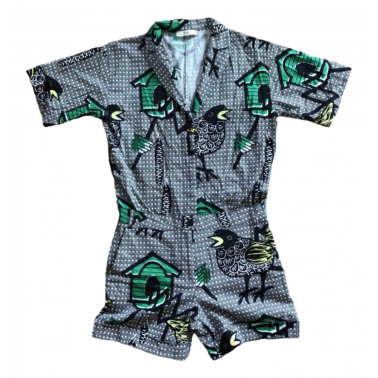 Non Signé / Unsigned \N Multicolour Cotton jumpsuit for Women S International