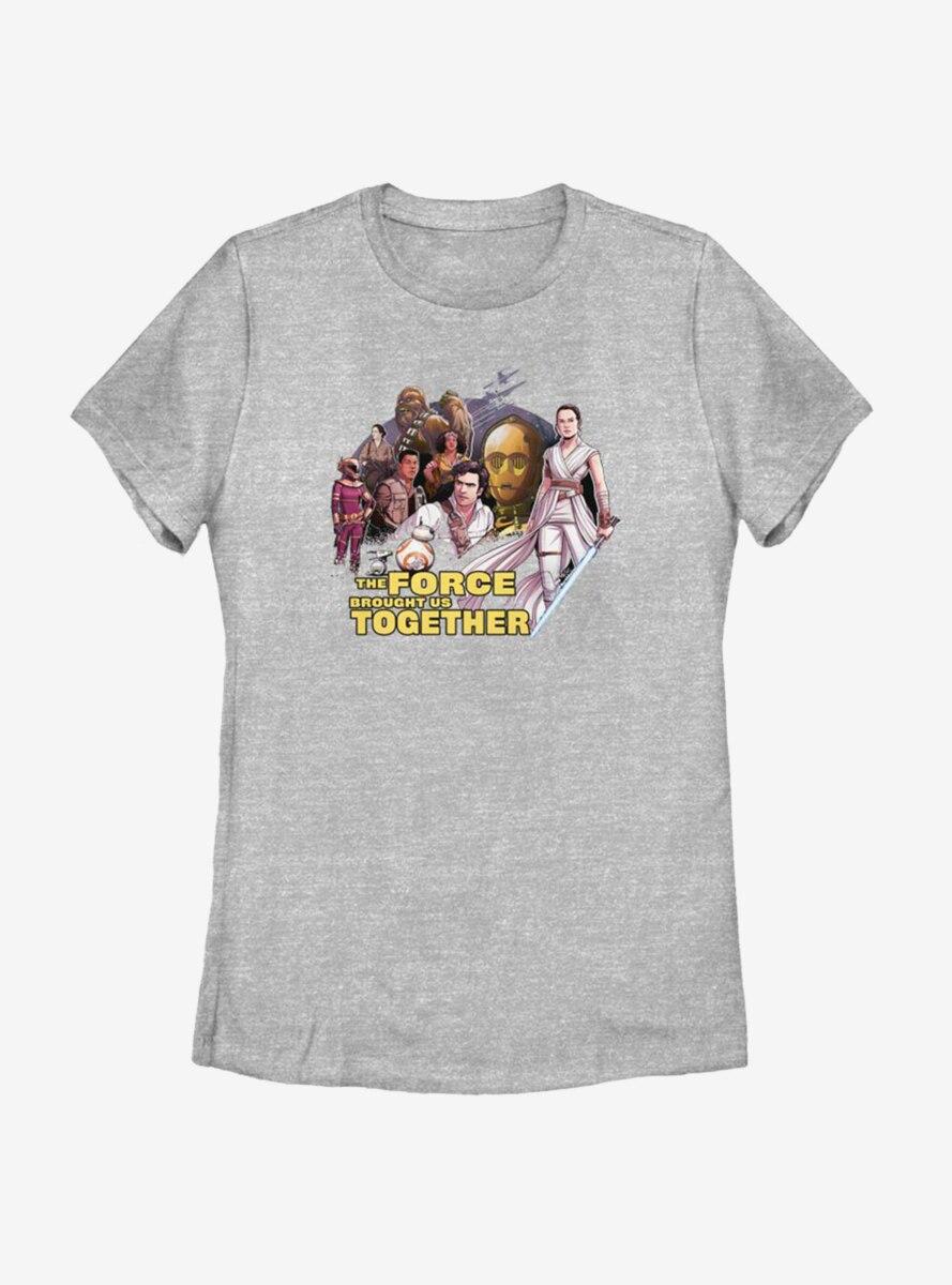 Star Wars Episode IX The Rise Of Skywalker Togetherness Womens T-Shirt