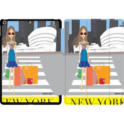 Apple iPad 9.7 (2017) Tablet Smart Case - NEW YORK TRAVEL POSTER von IRMA
