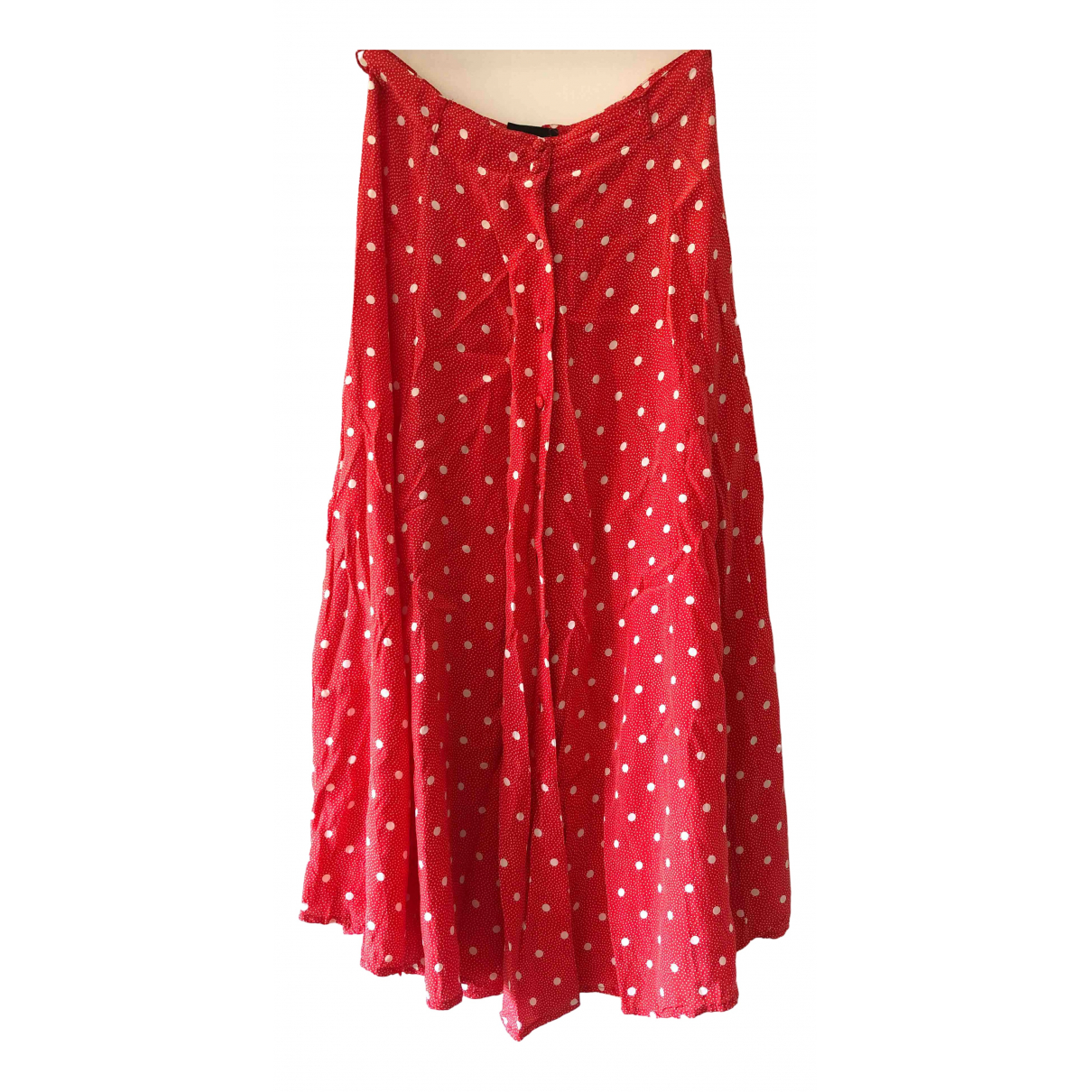 - Jupe Hippie Chic pour femme - rouge