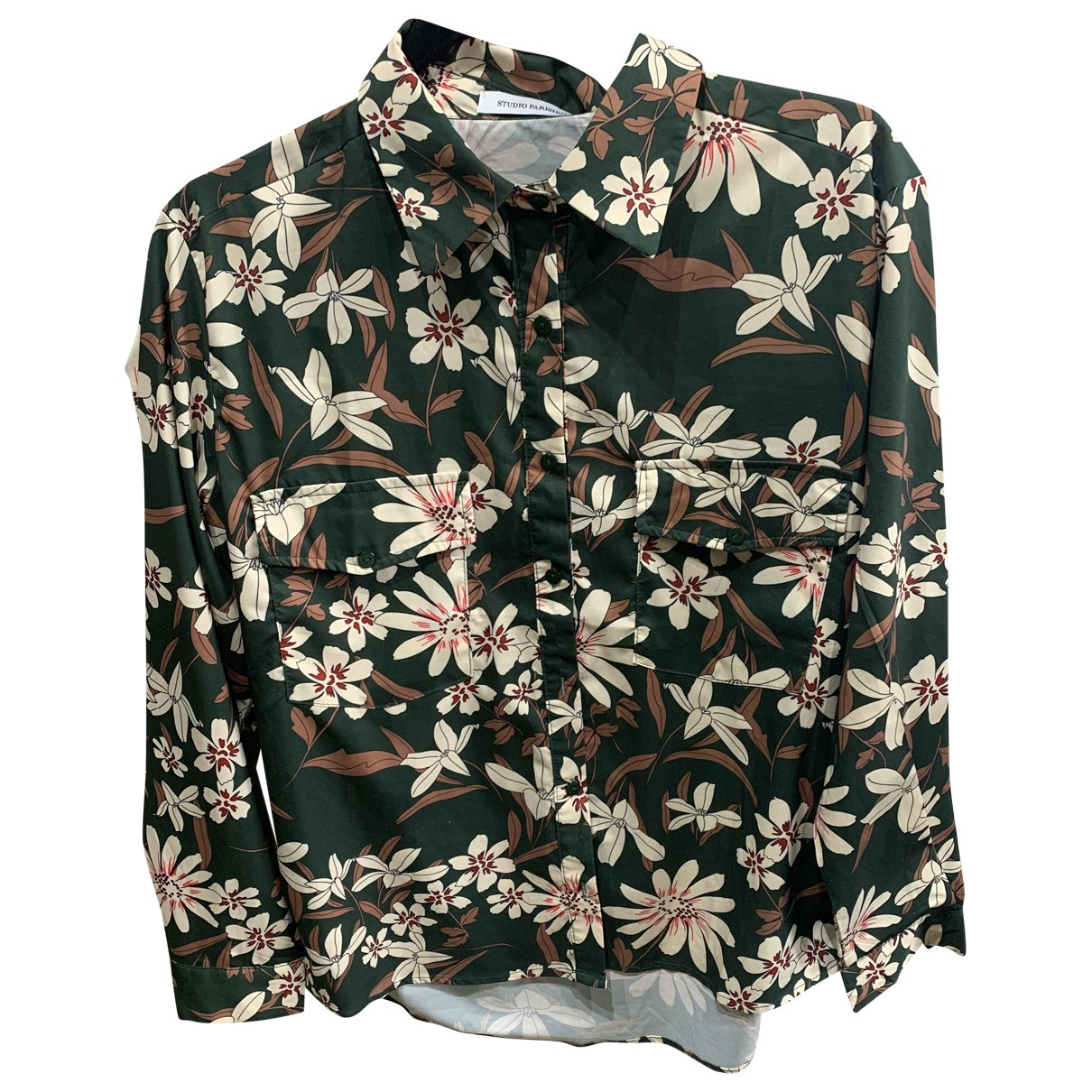 Non Signé / Unsigned \N Green  top for Women S International