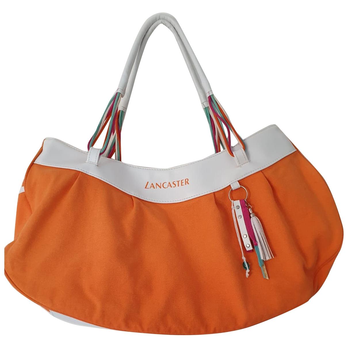 Lancaster \N Reisetasche in  Orange Polyester