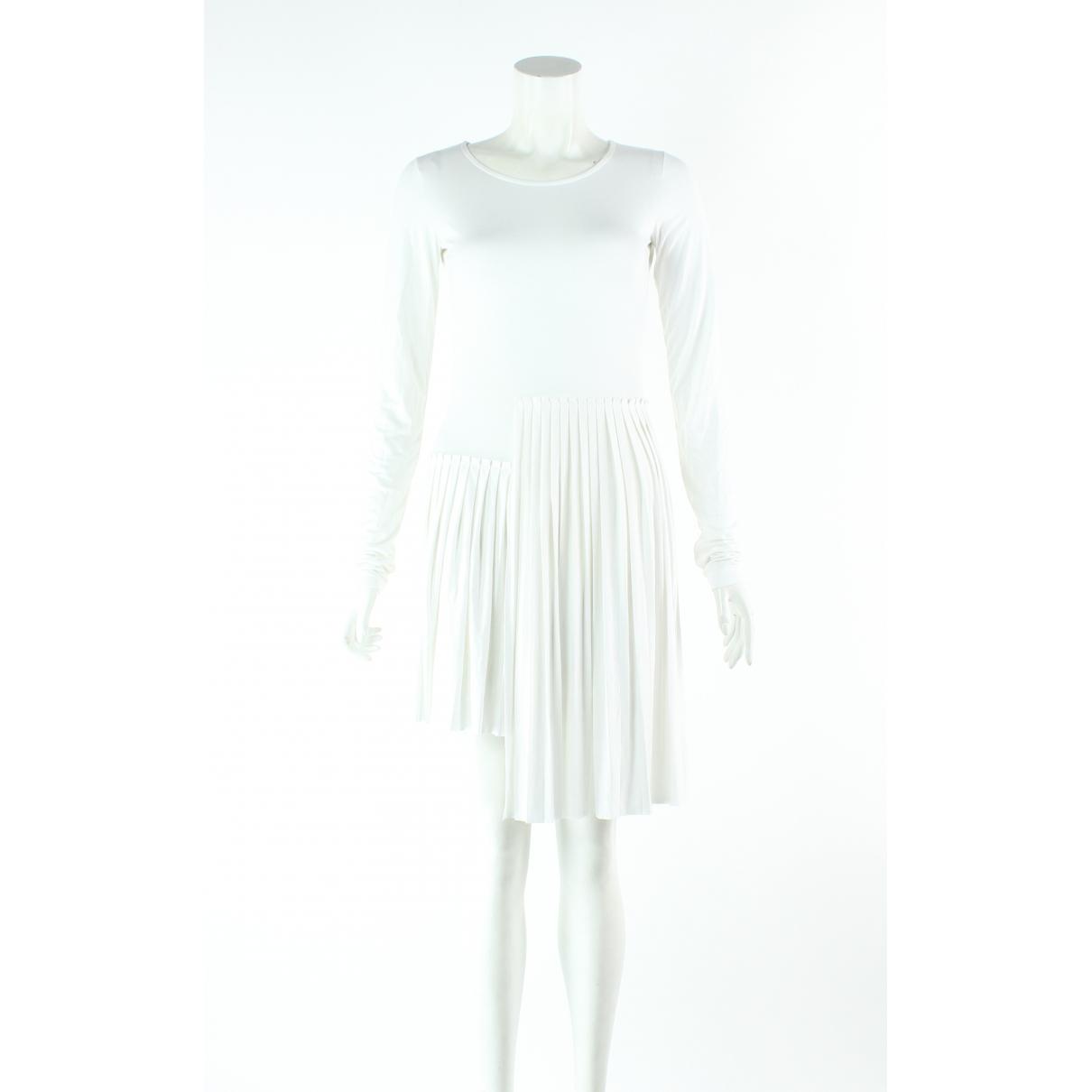 Mm6 \N Kleid in  Weiss Viskose