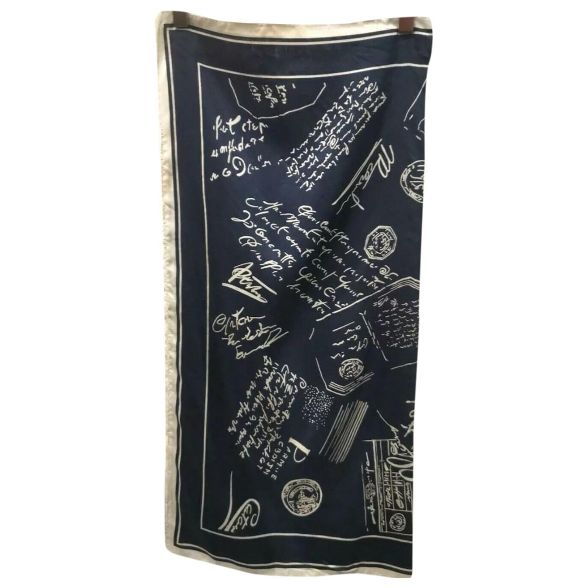 Cacharel \N Blue Silk scarf for Women \N