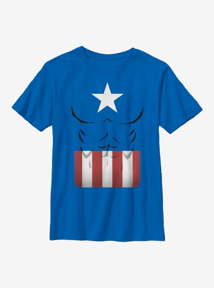 Marvel Captain America Captain Simple Suit Youth T-Shirt