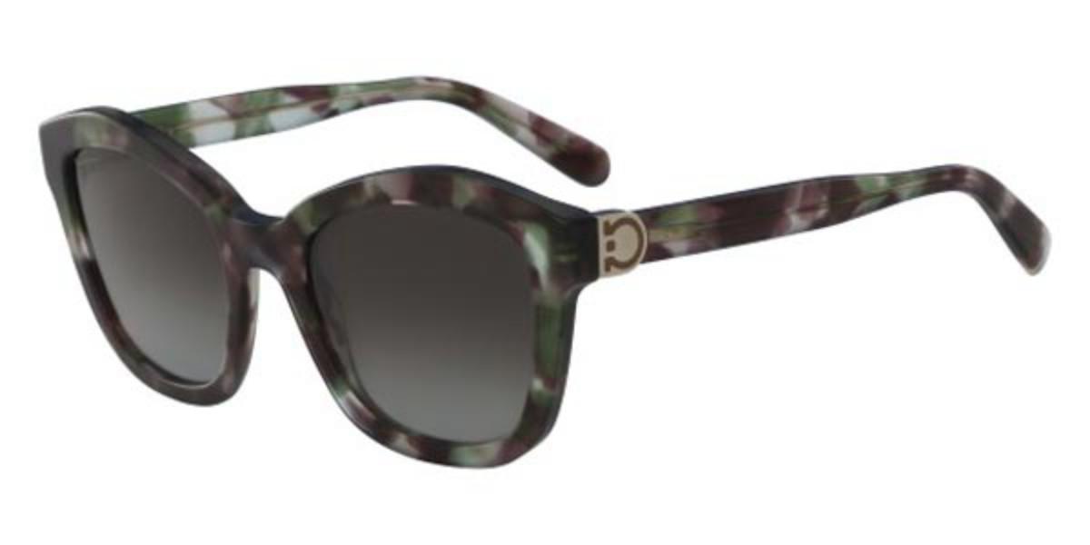 Salvatore Ferragamo SF 861S 308 Women's Sunglasses Tortoise Size 54