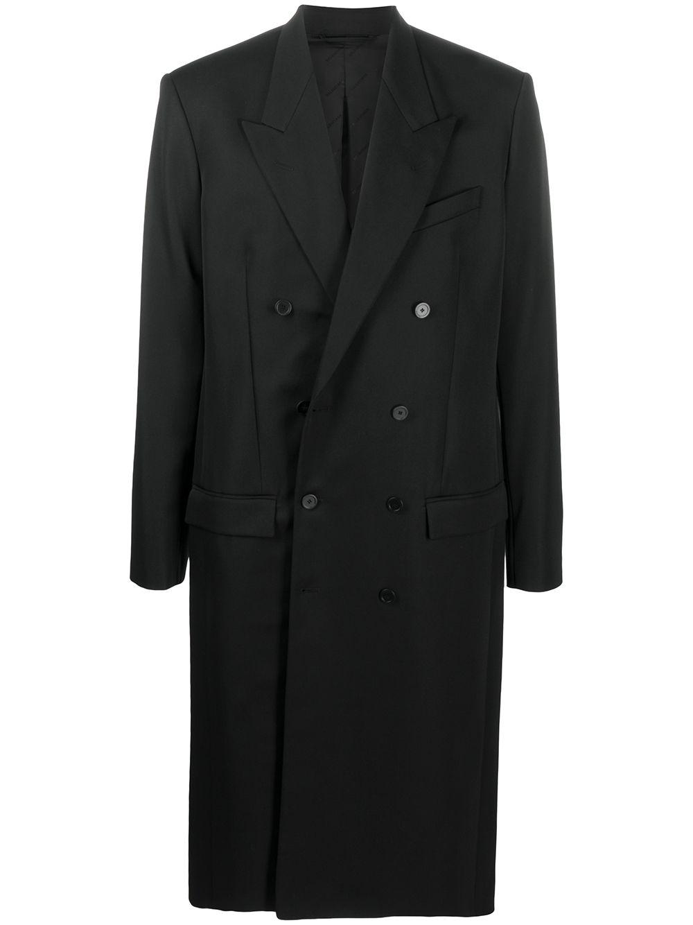 Silk Wool Coat