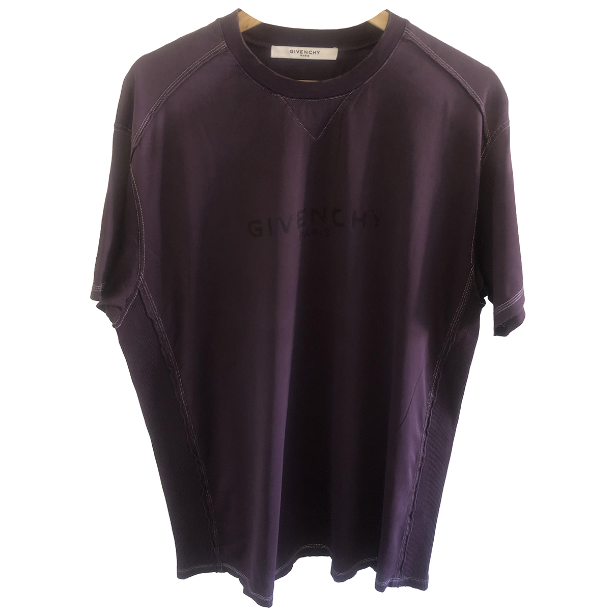 Givenchy N Purple Cotton T-shirts for Men S International