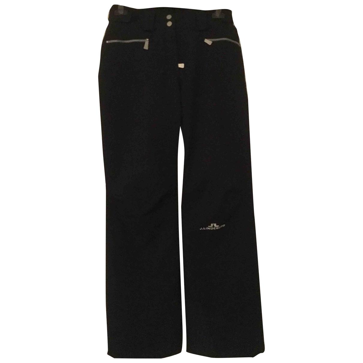 Pantalon en Poliester Azul J.lindeberg