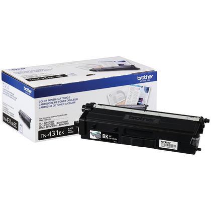 Brother TN431BK Original Black Toner Cartridge 3000 Pages