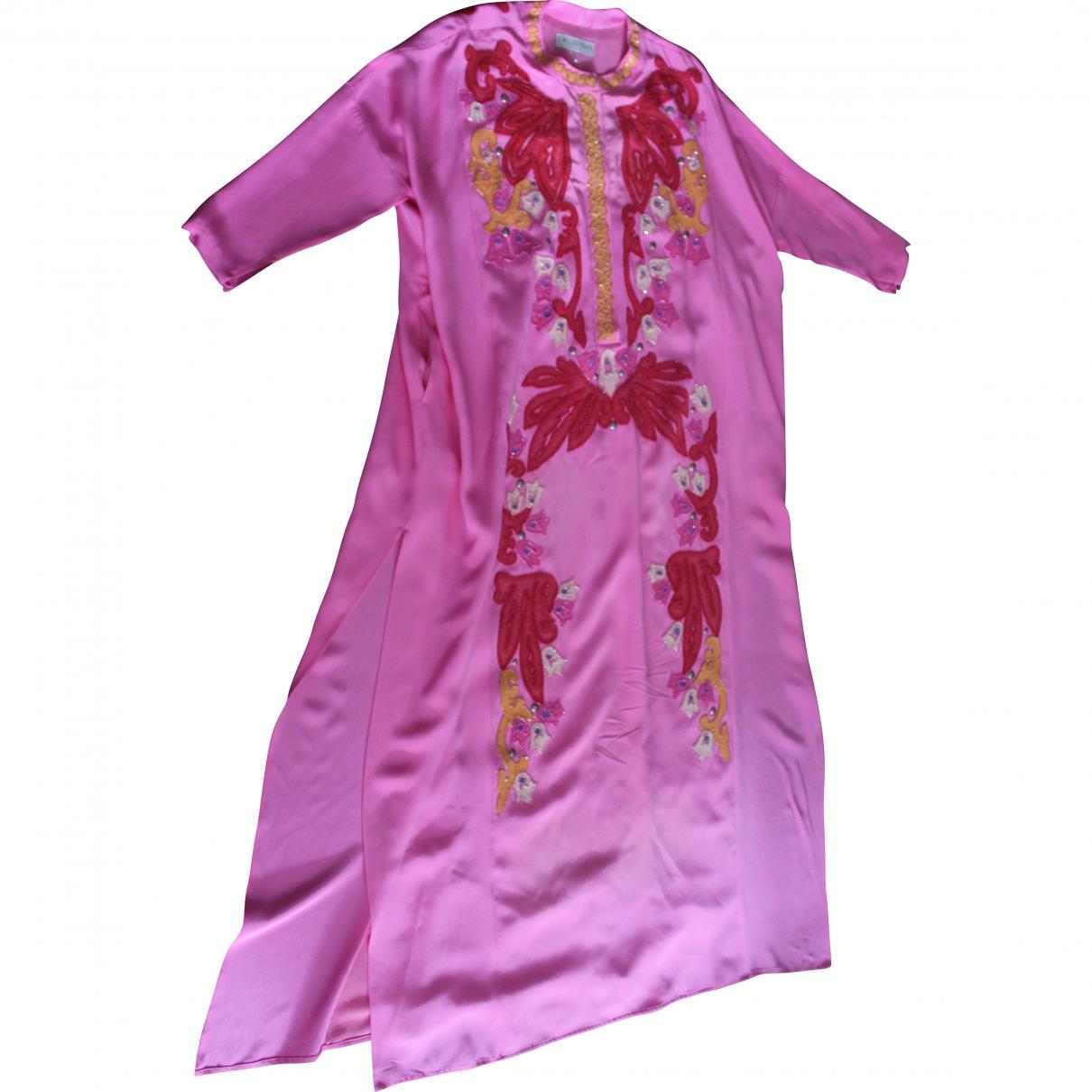Emilio Pucci \N Pink Silk dress for Women 38 IT