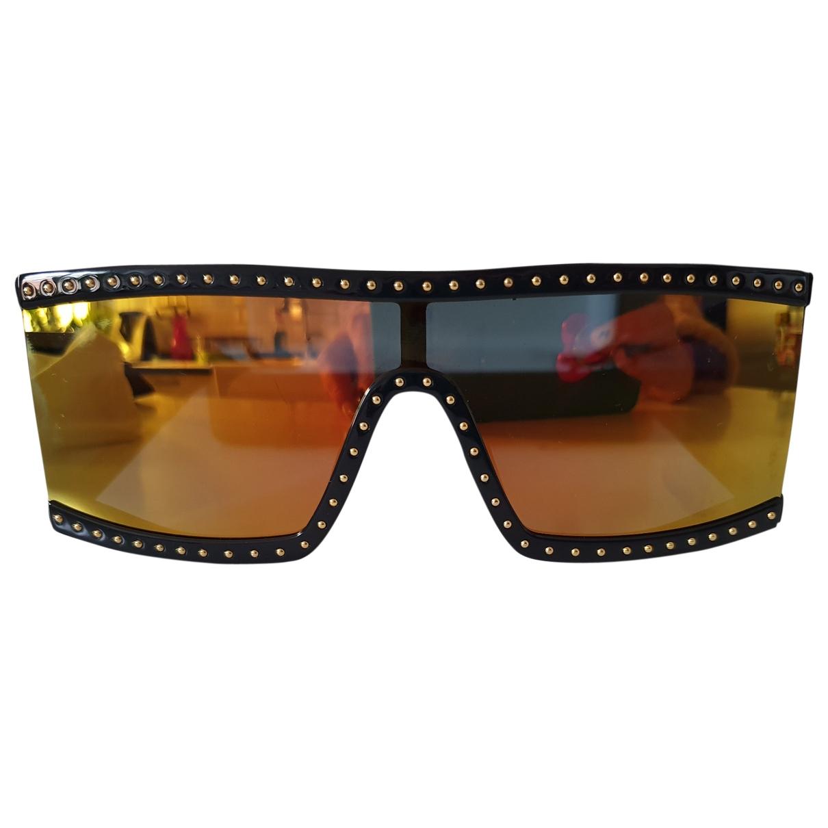 Moschino \N Sonnenbrillen in  Gold Kunststoff