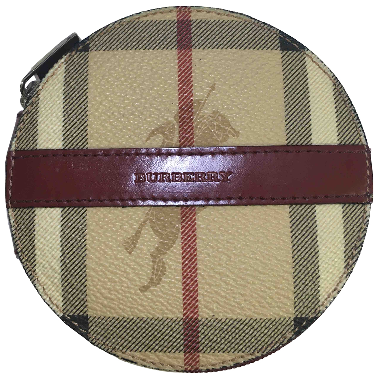 Burberry \N Beige Leather Purses, wallet & cases for Women \N