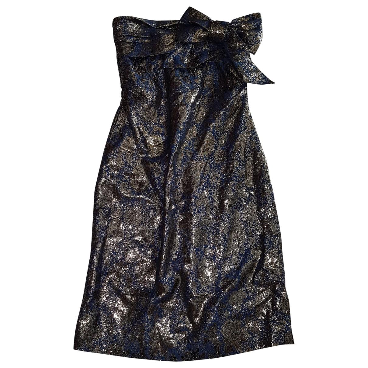 Lanvin - Robe   pour femme - dore