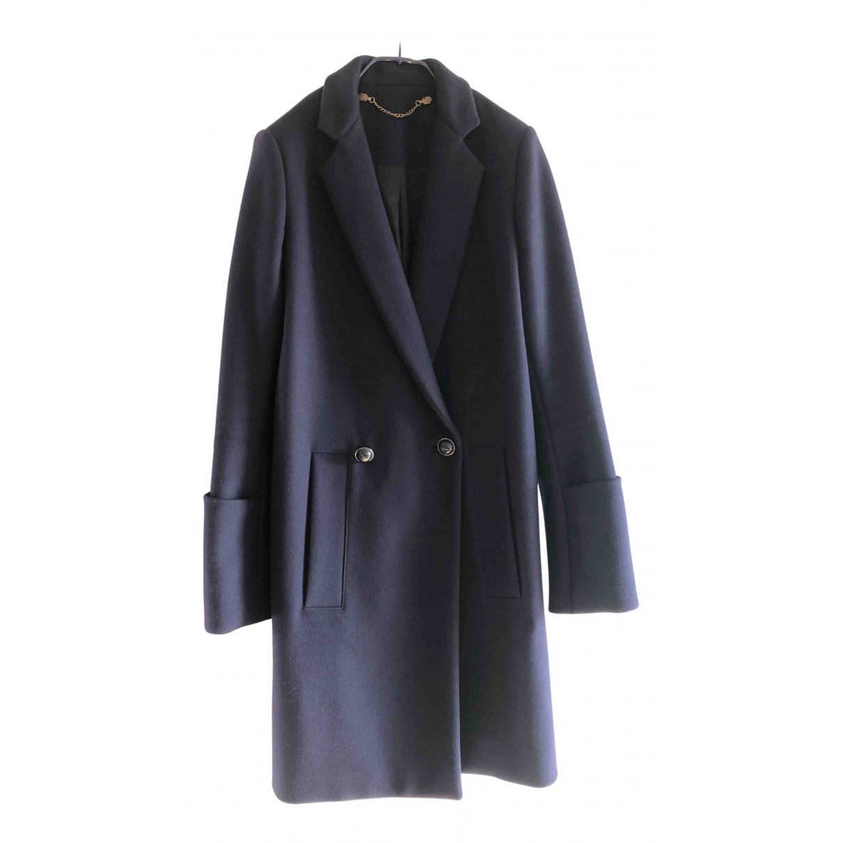Proenza Schouler N Navy Wool coat for Women 2 US