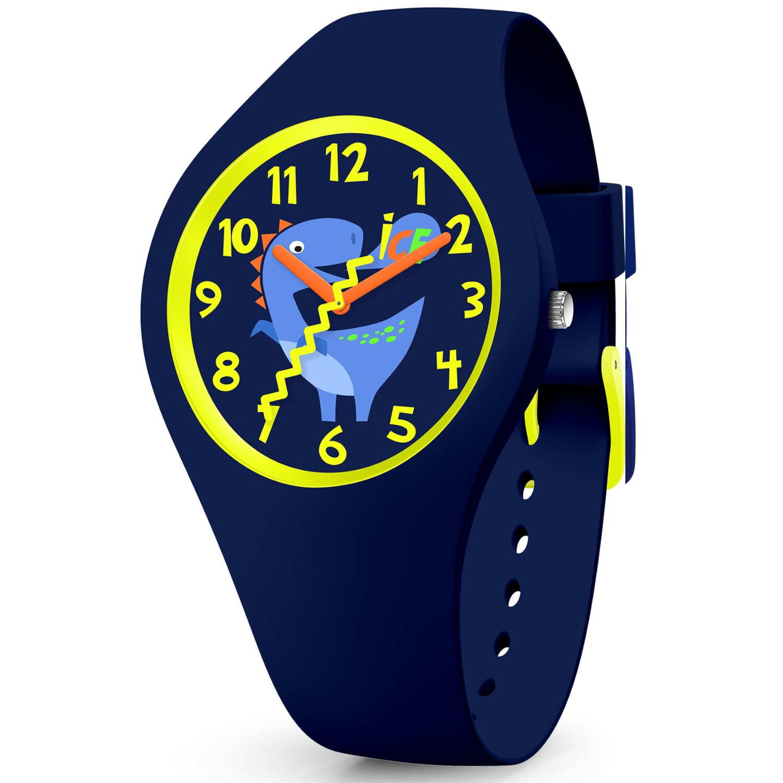 Ice-Watch Boy's Fantasia 017892 Blue Silicone Quartz Fashion Watch