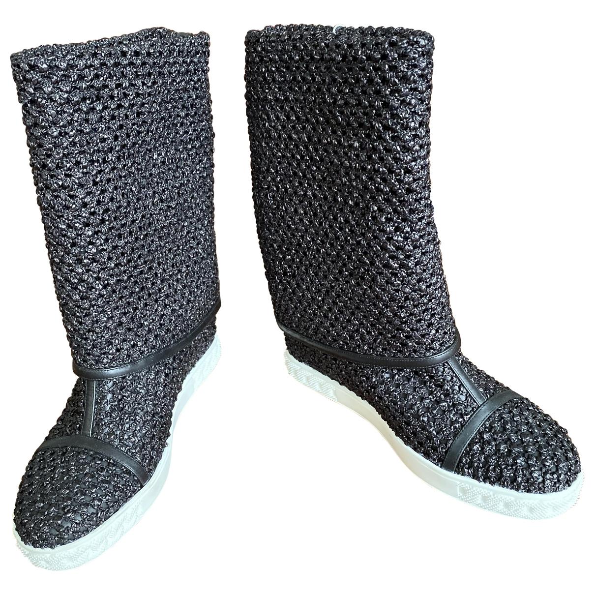 Casadei \N Black Boots for Women 38 EU