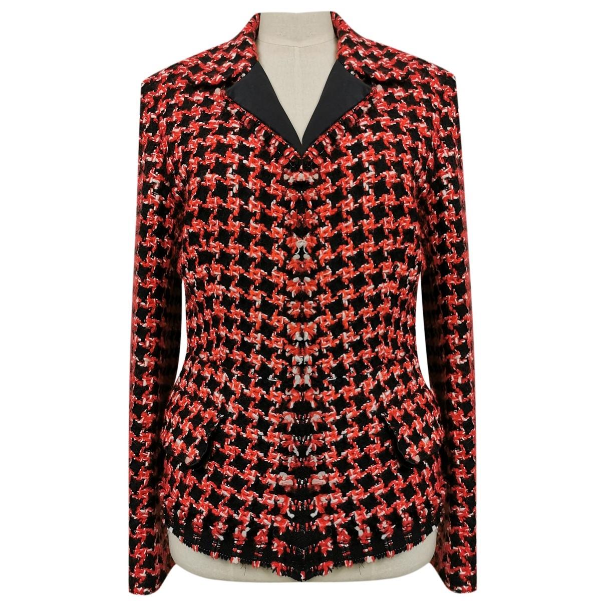Prada - Veste   pour femme en laine - multicolore