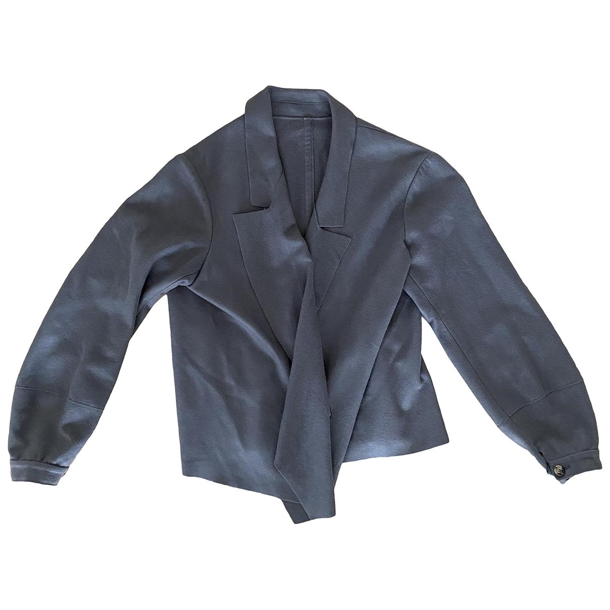 Yves Saint Laurent - Veste   pour femme en cachemire - gris