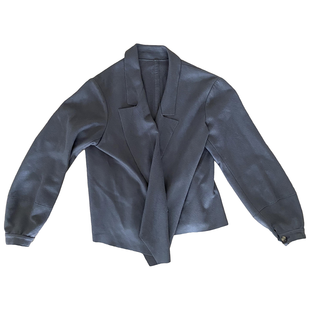 Yves Saint Laurent \N Grey Cashmere jacket for Women 46 FR
