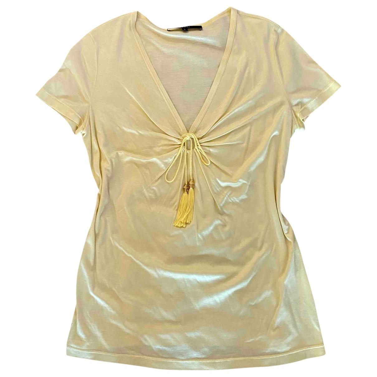 Gucci \N Yellow  top for Women S International