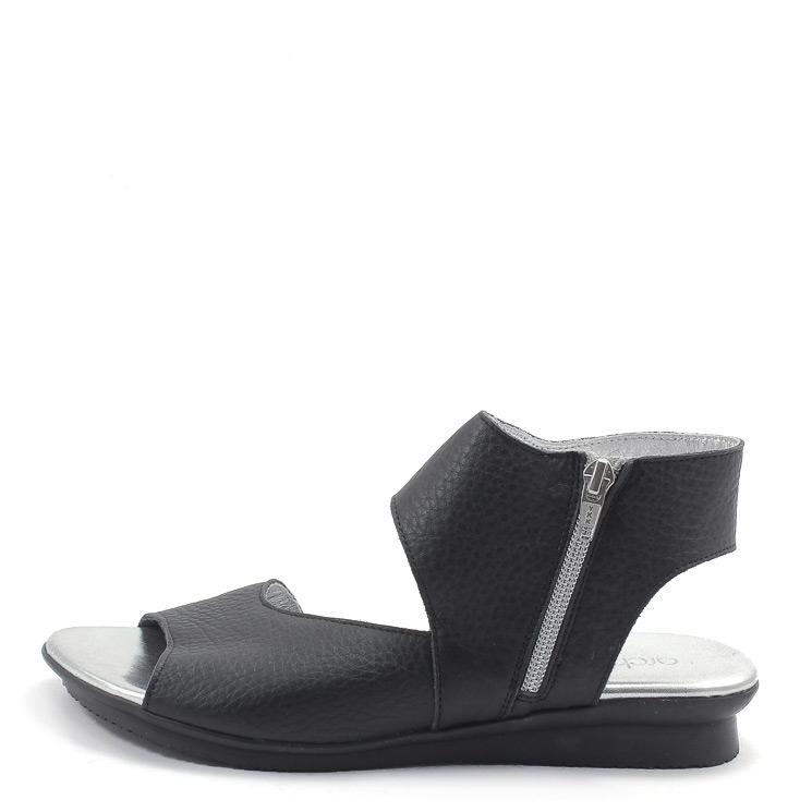 Arche, Aurock Damen Sandale, schwarz Grosse 40