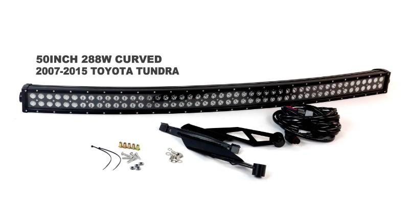 Race Sport Lighting RS-L35-288W Complete LED Light Bar Kit Toyota Tundra 07-14