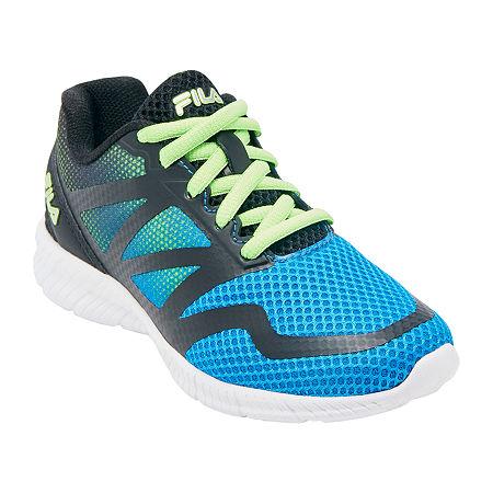 Fila Ravenue 5 Boys Running Shoes, 5 1/2 Medium, Blue