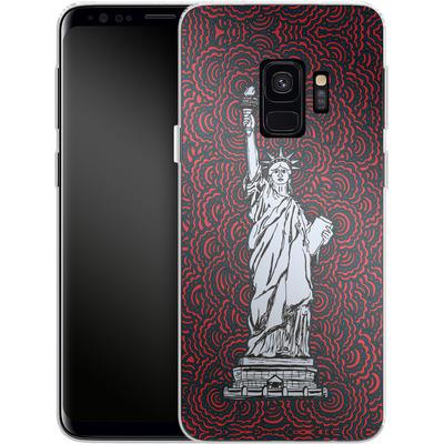 Samsung Galaxy S9 Silikon Handyhuelle - Liberty von Kaitlyn Parker