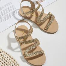Toddler Girls Glitter Detail Sandals