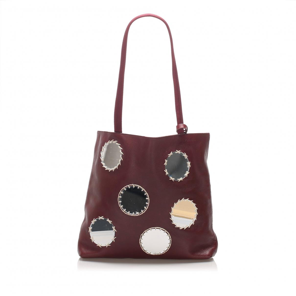 Prada \N Red Leather handbag for Women \N